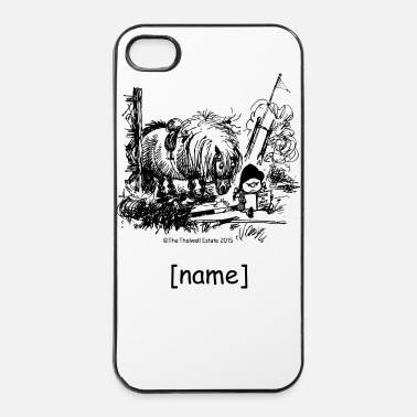 Salto A Ostacoli PonyFail Thelwell Cartoon - Custodia rigida per iPhone 4/4s