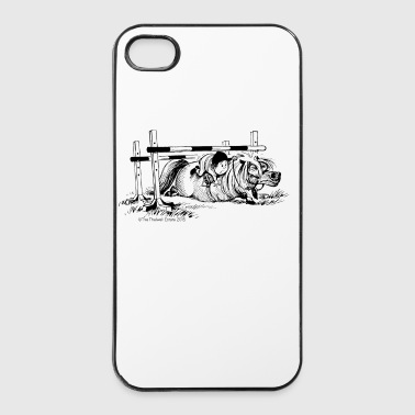 PoneyChute Thelwell Dessin - Coque rigide iPhone 4/4s