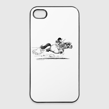 PonySprint Thelwell Cartoon - iPhone 4/4s Hard Case