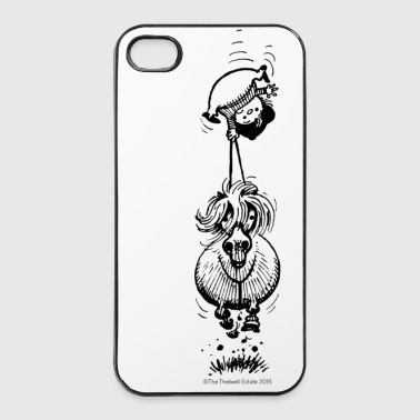 PonyKopfüber Thelwell Cartoon - iPhone 4/4s Hard Case