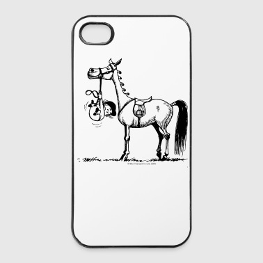 Stures Pony Thelwell Cartoon - iPhone 4/4s Hard Case