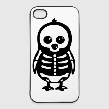 Penguin Skeleton - iPhone 4/4s Hard Case