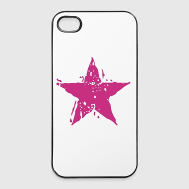Star Stencil 2 - iPhone 4/4s Hard Case