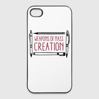 Weapons of mass creation designer (1c or 2c) - Coque rigide iPhone 4/4s