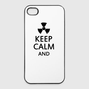 keep calm and radioactive - Coque rigide iPhone 4/4s