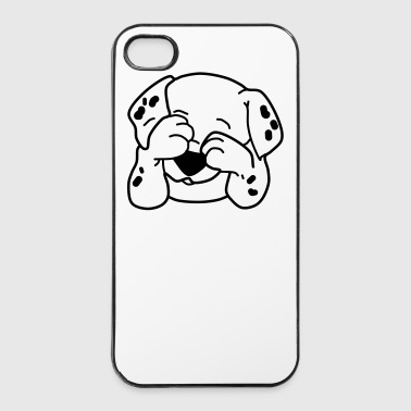 Cani - Custodia rigida per iPhone 4/4s