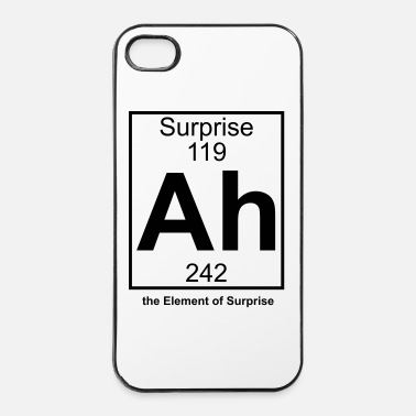 Element Ah - the Element of Surprise - iPhone 4 & 4s Hülle