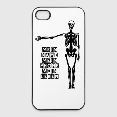 Squelette - Coque rigide iPhone 4/4s