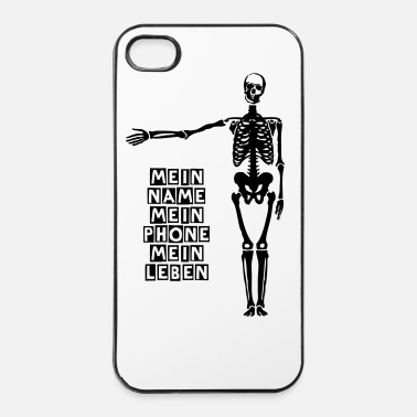Undead Skelet - iPhone 4/4s hard case