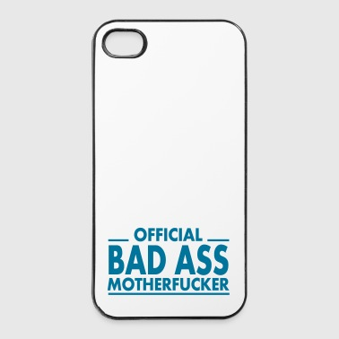 official bad ass motherfucker / badass - iPhone 4/4s Hard Case