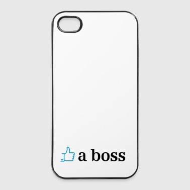 like a boss 2c - Twarde etui na iPhone 4/4s