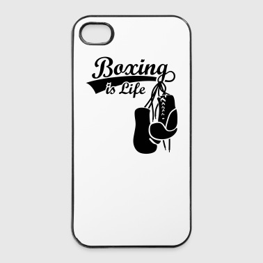 Boxing Gants de boxe boxer Boxe anglaise - Coque rigide iPhone 4/4s