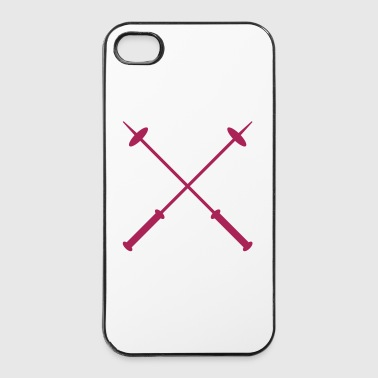 Skistöcke - iPhone 4/4s Hard Case