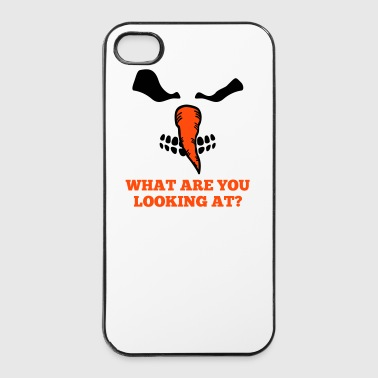 Evil snowman - iPhone 4/4s Hard Case