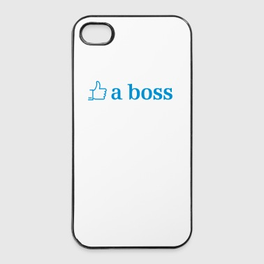 like a boss - Twarde etui na iPhone 4/4s