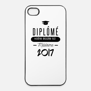 Fac diplomé - Coque rigide iPhone 4/4s