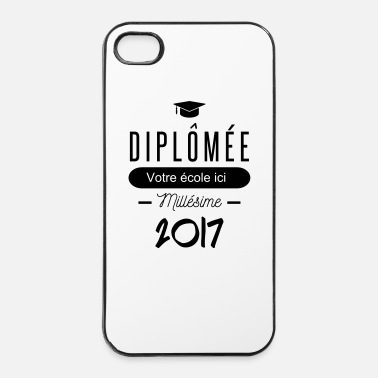 Fac diplomée - Coque rigide iPhone 4/4s