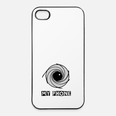 Toezicht lens - iPhone 4/4s hard case