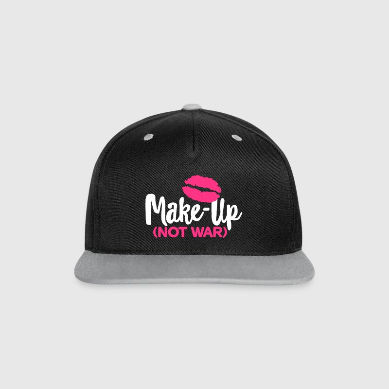 Make-up not war - Kontrast Snapback Cap