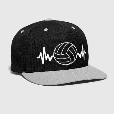 Volleyball is life - Kontrast Snapback Cap