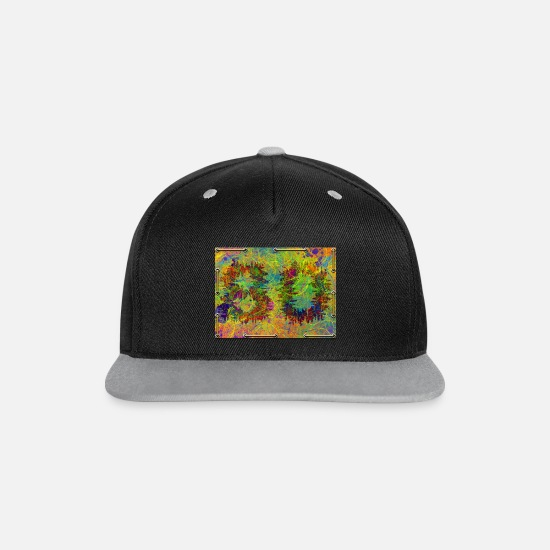 Birthday Caps & Hats - 80th birthday - Snapback Cap black/grey