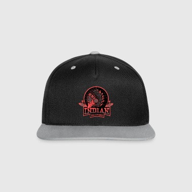 INDIAN BEARDED - Casquette Snapback contrastée