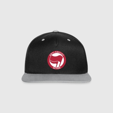 Anti-Fascist Action - Contrast Snapback Cap