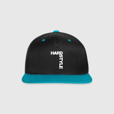 Hardstyle Side EDM Quote - Contrast Snapback Cap