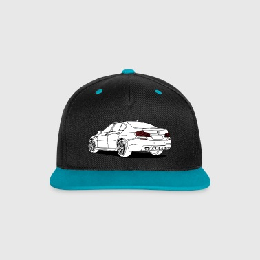cool sports saloon - Contrast snapback cap