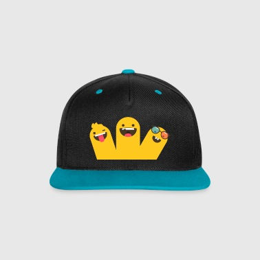 group - Contrast Snapback Cap