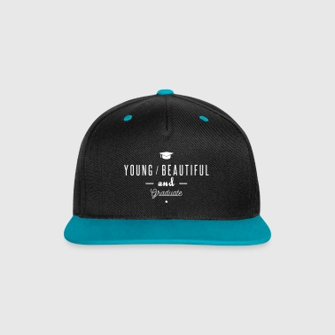 young and graduate - Gorra contraste Snapback