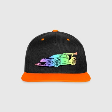 Concept Car Colourful - Contrast Snapback Cap