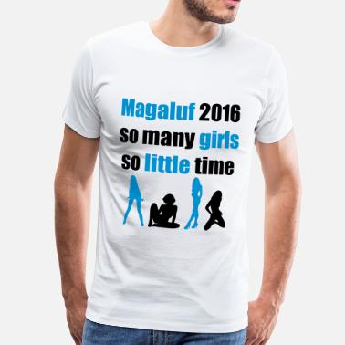 Sex Espagne Magaluf 2016 So Many Girls - T-shirt Premium Homme