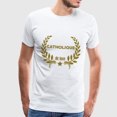 Catholicisme / Catho / Religion / Catholique - T-shirt Premium Homme
