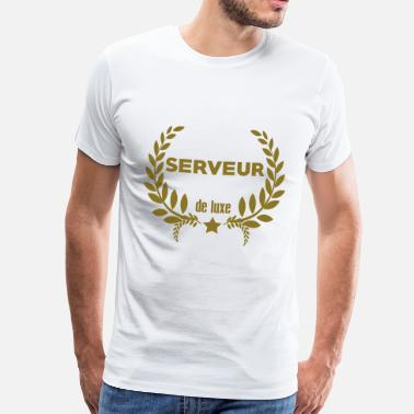 Barman Blagues Barman / Barmaid / Bar / Serveur / Serveuse - T-shirt Premium Homme