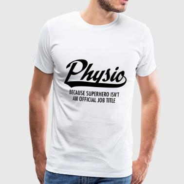 Physio - Superhero - Men's Premium T-Shirt