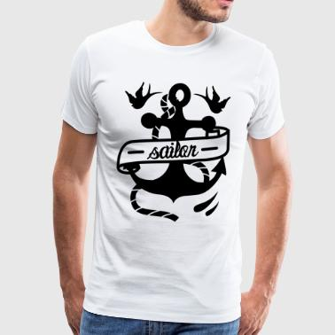 tattoo anchor - Men's Premium T-Shirt