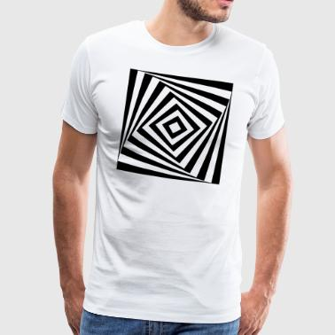 rectangle tournant - T-shirt Premium Homme