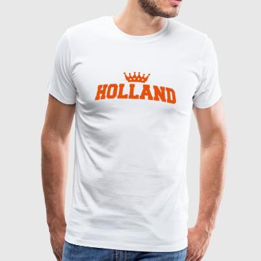 holland met kroon - Mannen Premium T-shirt