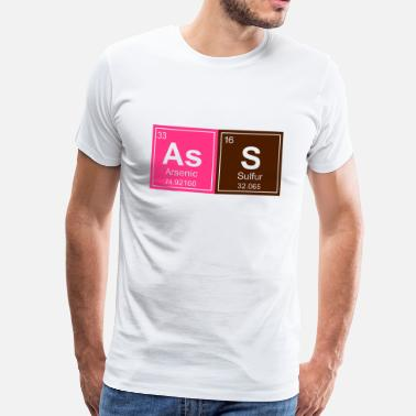 Geeky Ass Periodic Elements - Men's Premium T-Shirt