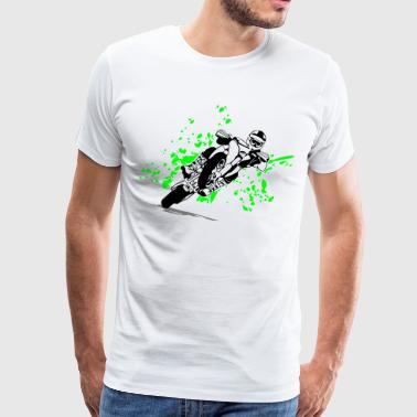 Supermoto Racing - Mannen Premium T-shirt