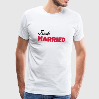 Marriage Wedding Bride Groom Hochzeit Mariage Love - Men's Premium T-Shirt