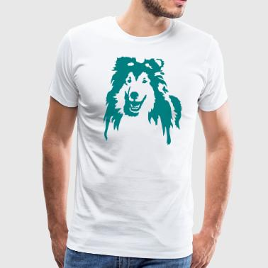 Collie - T-shirt Premium Homme