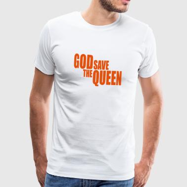 God save the Queen I - T-shirt Premium Homme