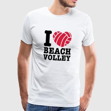 beach volley - Men's Premium T-Shirt