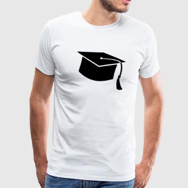 graduate PhD student High school Graduation Party - Men's Premium T-Shirt