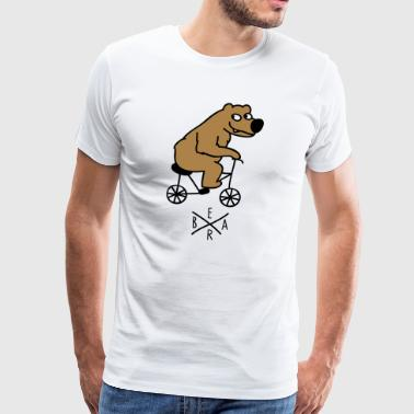sporty bear - T-shirt Premium Homme