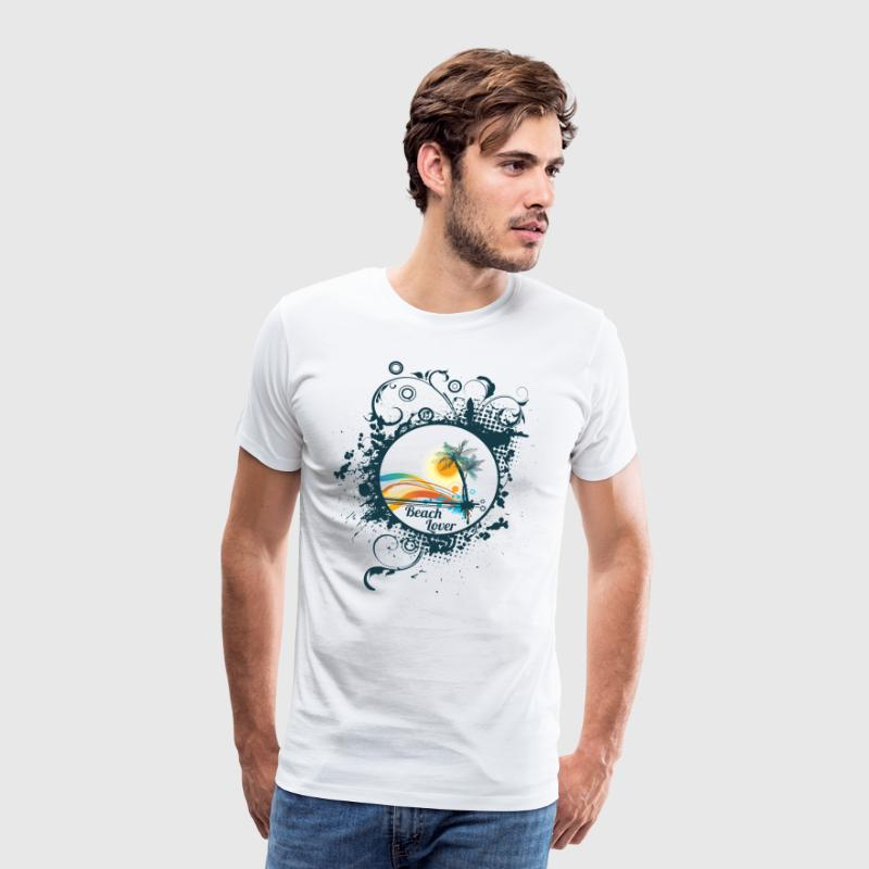 Beach Lover - Männer Premium T-Shirt
