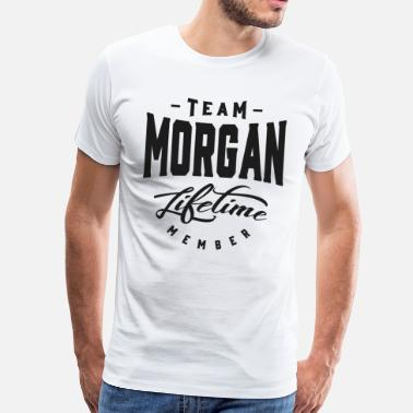 Morgan Team Morgan Lifetime Member - Men's Premium T-Shirt