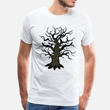 Celtic Design Celtic tree celtic tree - Men's Premium T-Shirt